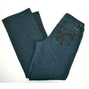Liz Claiborne Boot Cut Blue Jeans